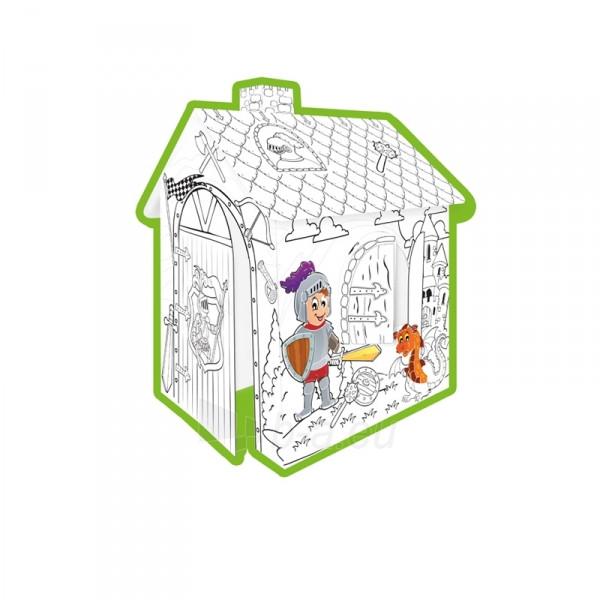 Mochtoys Картонный домик раскраска ''Принцесса''  Польша (11123)