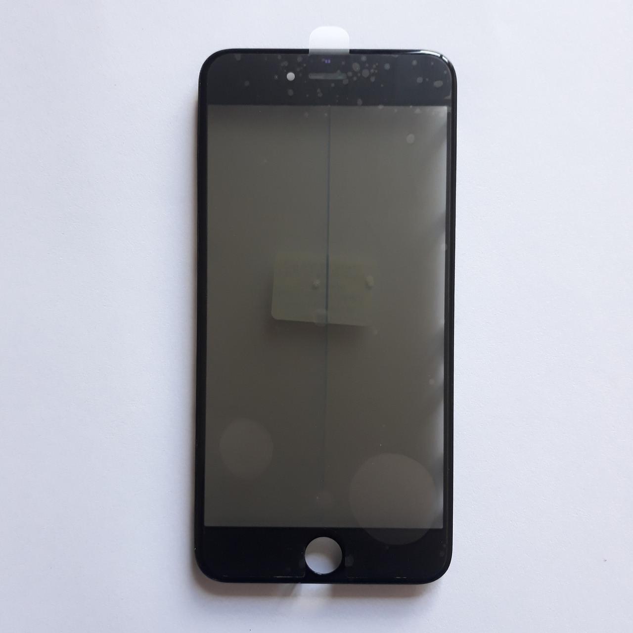 Скло корпуса Apple iPhone 6S Plus з рамкою, OCA плівкою, поляризаційної плівкою Black