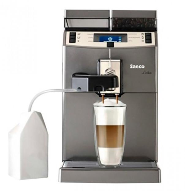 Кофемашина автоматическая профессиональная для дома, офиса и кафе Saeco Lirika One Touch Cappuccino 10004768