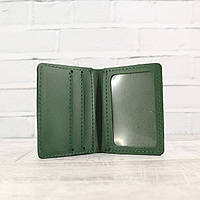 Кардхолдер Mihey cardholder зеленый из натуральной кожи kapri 1120109