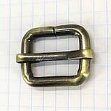 Регулятор пряжка перетяжка 20 мм антик для сумок a5992 (10 шт.), фото 4