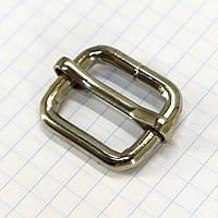 Регулятор пряжка перетяжка 20 мм никель для сумок a5991 (20 шт.)