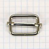 Регулятор 20 мм никель для сумок a6002 (100 шт.), фото 4
