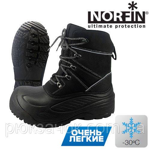 Ботинки зимние NORFIN Discovery .теплые универсальные ботинки для любителей рыбалки зимой