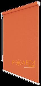 Ролета тканевая Е-Mini Лен 860 Терракотово-оранжевый