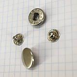 Кнопка альфа 15 мм никель a4218 (360 шт.), фото 2
