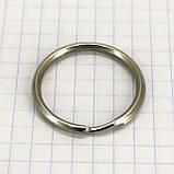 Кольцо ключное 24 мм никель для сумок t4346 (50 шт.), фото 2