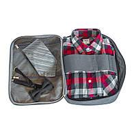Органайзер для рубашек на 3шт для путешествий ORGANIZE C020-grey серый