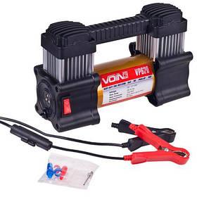 "Компрессор ""VOIN"" VP-620 150psi/28A/80л/клеммы/фонарь/2 цилиндра (VP-620)"