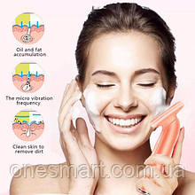 Myris Lady Personal Skin Care Silicone Face Cleaner Brush Waterproof Facial Cleaner