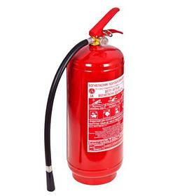 Огнетушитель порошковый с манометром 9 кг (ОП-9)