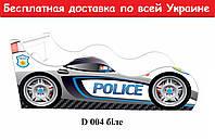 """Кровать машина """" Полиция"""" белый"""