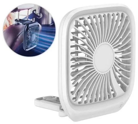 Вентилятор USB Baseus в салон автомобиля. USB вентилятор настольный/авто