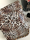 Сумка-кроссбоди леопардовий принт,лакова, фото 7