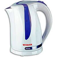 ✅ Чайник электрический 1.7 (электрочайник с подсветкой) Vitalex VL-2026