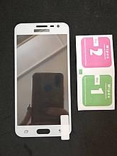Защитное стекло Samsung J3 j320 White