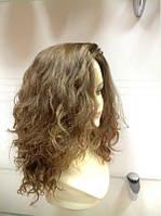 Парик с имитацией кожи головы ручная работа из Натуральных славянских волос (030)