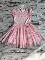Сукня для дівчинки, розмір 128-152 Розовый, 134