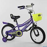 Велосипед двухколесный детский Corso 14 дюймов (3-5 лет) Доставка, фото 5