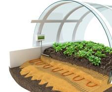 Обогрев почвы ratey-1700а комплект на 15 м2 (1700Вт)