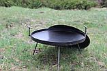 Сковорідка 40 см з кришкою Буковинка, фото 3