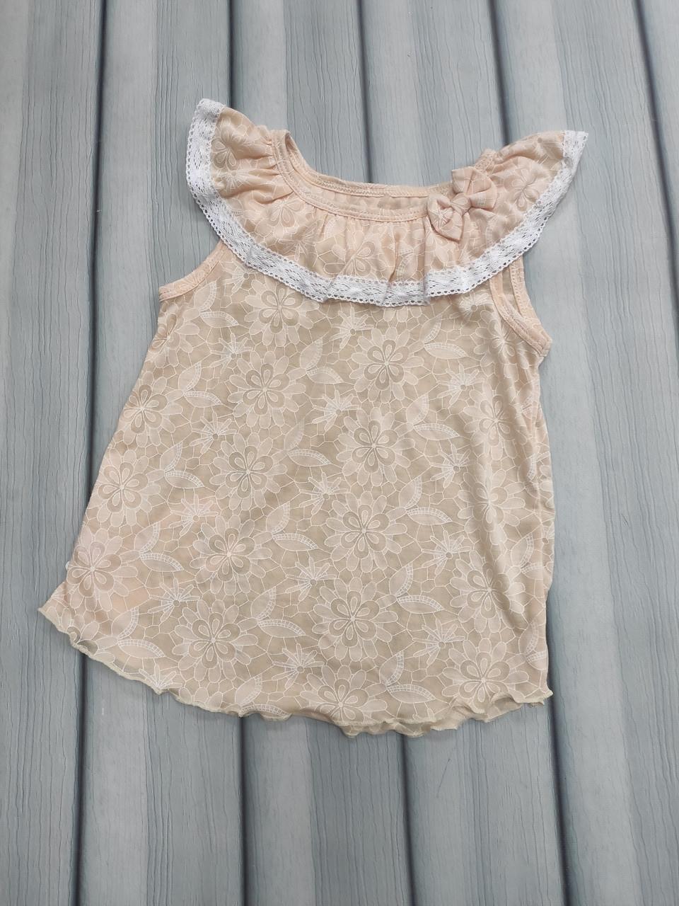 Блузка для девочки летняя
