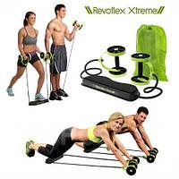 Тренажер для пресса Revoflex Xtreme латекс, (для мышц рук, плечевые мышцы, ягодицы), силовой тренажер,