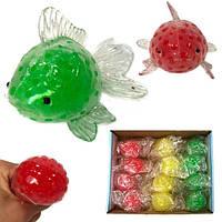Антистресс игрушка для детей Рыбка 12 шт