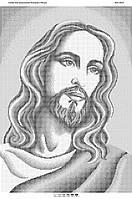 Схема для вышивания бисером ''Лик Иисуса Христа 1'' А2 42x59см