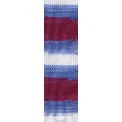 Пряжа для вязания Бургум батик 4431