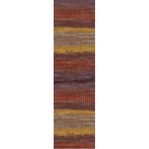 Пряжа для вязания Бургум батик 3379