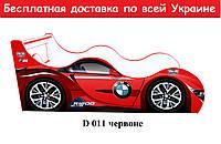 """Кровать машина """" БМВ """" красный"""