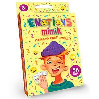 """Настольная карточная игра """"Emotions Mimik"""", укр. EM-01-01U"""