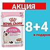 Корм Роял Канин Киттен Royal Canin Kitten in loaf для котят в паштете 85 г(8+4)