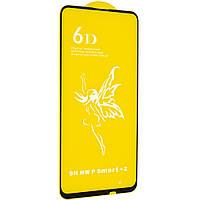 Стекло 6D Huawei P Smart Z черное - защитное, premium