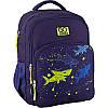Рюкзак школьный для мальчика GoPack синий с акулами 113M-6, фото 2