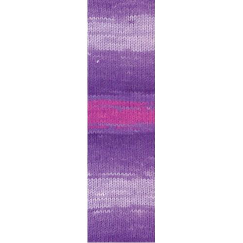 Пряжа для вязания Бургум батик 4833