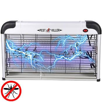Электрический уничтожитель насекомых и комаров Pest Killer Lesko PK-30A электроловушка мощностью 30 Вт