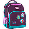 Рюкзак школьный для девочки GoPack Lama фиолетовый 113M-4, фото 4
