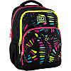 Рюкзак школьный для девочки GoPack Bright day черный 113M-3, фото 3