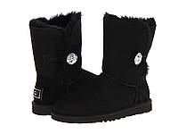 Натуральные угги UGG Australia (Угги Оригинал) Bailey Button Bling Black. Model: 5803