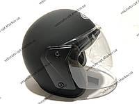 Шлем открытый, без бороды, матовый BAIXIN, М57-58