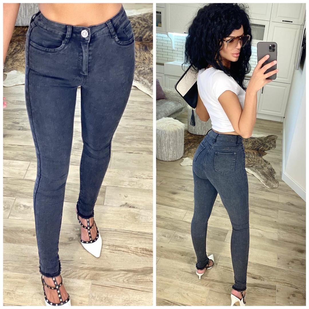 Джинсы женские зауженная модель джинс стрейч производство Турция размеры: 28, 29, 30, 31, 32, 33