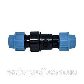 Обратный клапан зажимной 25 Unidelta