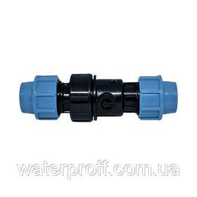 Обратный клапан зажимной 40 Unidelta