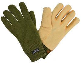 Перчатки акриловые, утеплитель Thinsulate MilTeс Olive 12531001, фото 3
