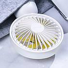 Портативный вентилятор BASEUS Firefly mini fan. Ручной вентилятор с аккумулятором, фото 4