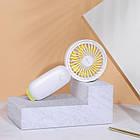 Портативный вентилятор BASEUS Firefly mini fan. Ручной вентилятор с аккумулятором, фото 9