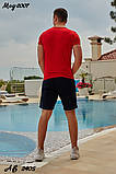 Мужской летний спортивный костюм футболка+шорты Nike размеры:48,50,52,54, фото 7