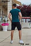 Мужской летний спортивный костюм футболка+шорты Nike размеры:48,50,52,54, фото 8